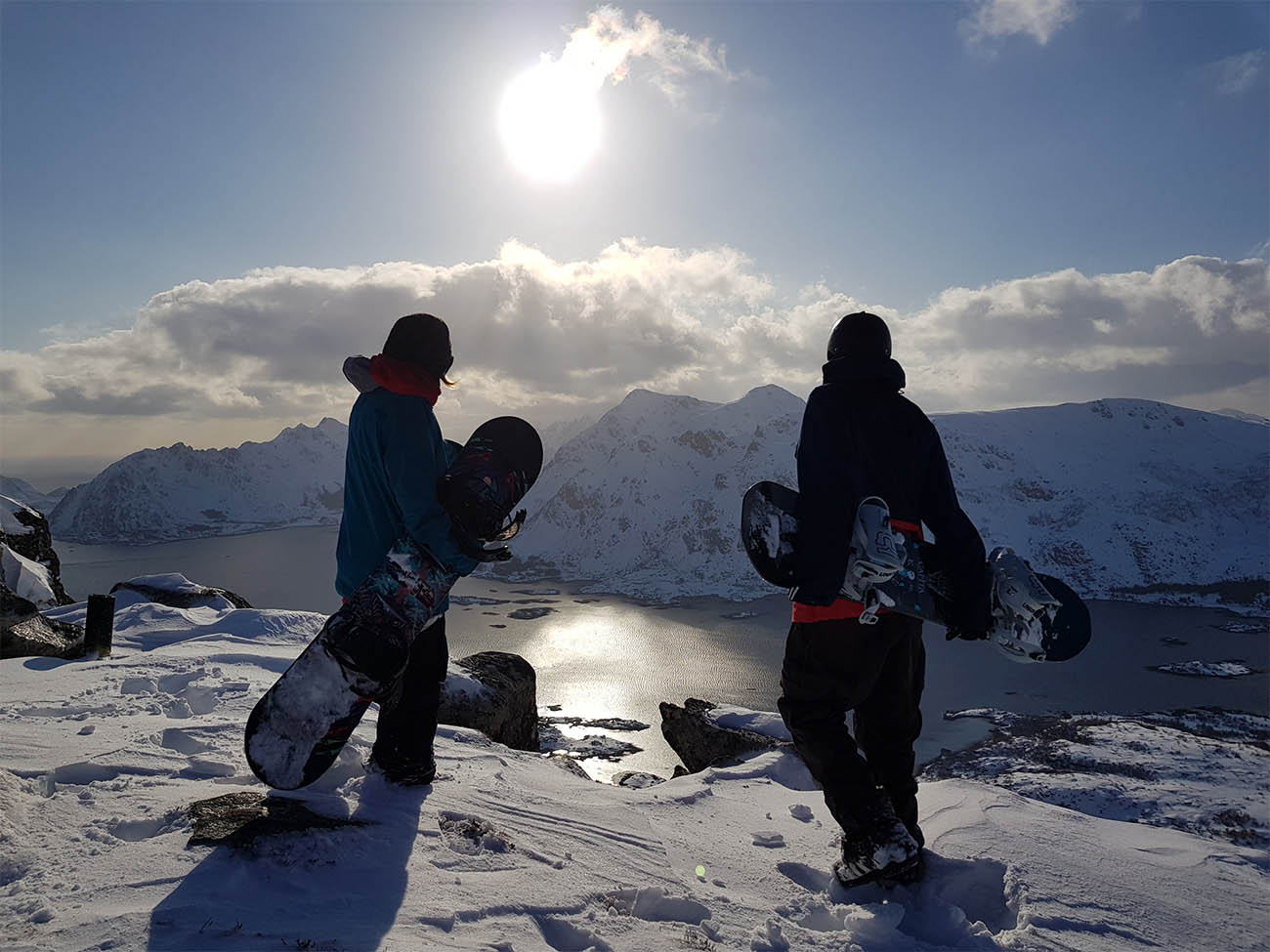 Skiing & Snowboarding in Lofoten