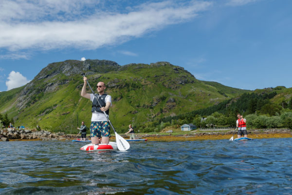 SUP Stand up paddle in Lofoten